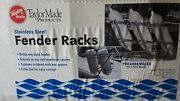 Taylor Made Product 2 Fenders Rack Stainless Steel Fits Any Size Fender. New