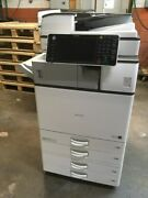 Ricoh Mp 3054 Refurbished B And W Copier With Print/ Scan Fax And Finisher 1995