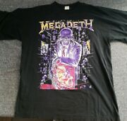 Extremely Rare Megadeth Countdown To Extinction Shirt Size L Or Xl Read