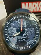 Brand New Citizens Eco-drive Marvel Heroes Watch Spiderman Cordura Strap Aw2037-