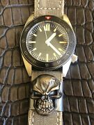 Steel Flame Molle Clip For Watch Watchstrap Backpack Hat Xl 3d Hardness Skull Rb