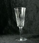 Vintage Waterford Crystal Lismore Champagne Flute Gothic Mark 7 1/4