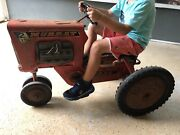 Vintage Kids Tractor, Murray Tractor 1960. Vintage Pedal Tractor.