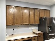 Used Kitchen Cabinets In Good Condition With Sink 23-26 Piece