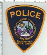 Pima County Community College Police Arizona 1st Issue Shoulder Patch