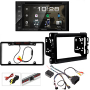 Kenwood 2-din Car Stereo Dvd Receiver Package For 2013up Dodge Ram Pick Up Truck