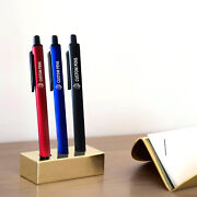 Personalized Ballpoint Pen Business Advertising Custom Print Pen With Logo Text