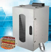 20layers Fruit Vegetable Drying Machine 110v Stainless Steel For Seafood Cheese