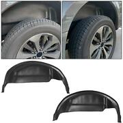 79121 Wheel Well Guards Liners Rear Fender Mud Flaps For 2015-2020 Ford F150