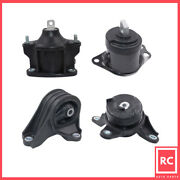 Engine Motor And Trans Mount 4pcs Set Fit 2015-2019 Acura Tlx 2.4l For Auto Trans