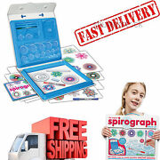 Spirograph Deluxe Set Super Complete Kit Original New Design Painting Drawing
