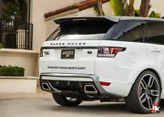 Caractere Exclusive 2013+ Range Rover Sport Rear Diffuser Dual Pipes