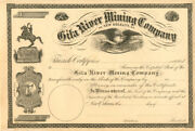 Gila River Mining Company Of New Orleans L.a.