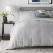 Malouf Rayon From Bamboo Set-best Fitting Duvet Cover-8 Corner And Side Loops-ov