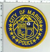 City Of Marion Police Arkansas 2nd Issue Shoulder Patch