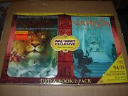 Narnia Dvd And Book 2 Pack - Sealed New -