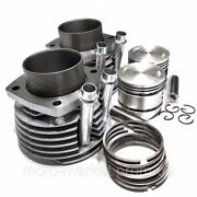 2 Ural 650 Ccm Cylinders Piston Rings Completely Set