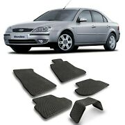 Eva Car Floor Mats Heavy Duty All Weather Odorless For Ford Mondeo Iii 2000-2007