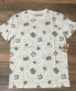 Urban Pipeline Fashion Tee Menand039s T-shirt Stereos Boom Box Cassette Players