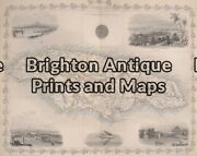 Antique Map We Have Tallis Maps From All Over The World. Please Contact Us.