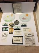 Remarkable And Rare Mcdonalds Moscow Russia Press Kit And Art Exhibit Pieces