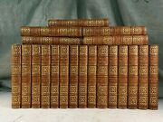 Complete Writings Of Lord Macaulay History England Antique Leather Books Decor