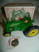 John Deere 1/16 Model A Tractor Numbered4210 We Care Collectible Ltd Ed Rare Coa