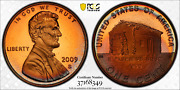 2009-s Lincoln Cent Early Childhood Pcgs Pr68dcam Penny Rainbow Color Toned