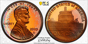 2009-s Lincoln Cent Presidency Pcgs Pr67rd Dcam Penny Color Toned Rainbow 8/17
