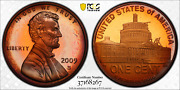 2009-s Lincoln Cent Presidency Pcgs Pr67rd Dcam Penny Color Toned Low Pop 8/17