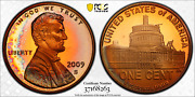2009-s Lincoln Cent Presidency Pcgs Pr68rd Dcam Penny Toned 1 Finest Worldwide
