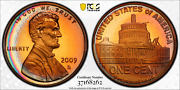 2009-s Lincoln Cent Presidency Pcgs Pr67rd Dcam Penny Cresent Toned High Grade