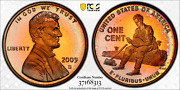 2009-s Lincoln Cent Penny Formative Years Pcgs Pr68rd Both Sides Color Toned
