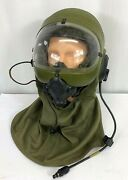 1989 Us Army Gentex Helicopter Support Team Helmet