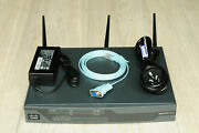 Cisco861w-gn-a-k9 Ethernet Security Router 802.11n Fcc Complaint 1yrwty Taxinv