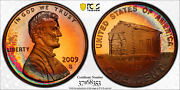 2009-s Lincoln Cent Early Childhood Pcgs Pr68rd Dcam Penny Monster Toned 1340
