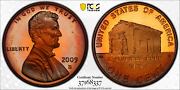 2009-s Lincoln Cent Early Childhood Pcgs Pr68rd Dcam Penny Colorful Toned 1342