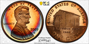 2009-s Lincoln Cent Early Childhood Pcgs Pr69rd Dcam Penny Crescent Toned 1344