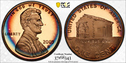 2009-s Lincoln Cent Early Childhood Pcgs Pr68rd Dcam Penny Crescent Toned 1345