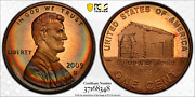 2009-s Lincoln Cent Early Childhood Pcgs Pr68rd Dcam Penny Crescent Toned 1346