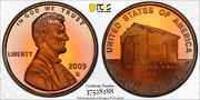 2009-s Lincoln Cent Early Childhood Pcgs Pr69rd Dcam Penny Crescent Toned 1352