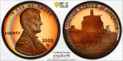 2009-s Lincoln Cent Presidency Pcgs Pr68rd Dcam Penny Colorful Toned 1358