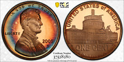 2009-s Lincoln Cent Presidency Pcgs Pr68rd Dcam Penny Colorful Toned 1359