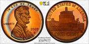 2009-s Lincoln Cent Presidency Pcgs Pr68rd Dcam Penny Colorful Toned 1360