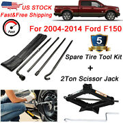 Spare Tire Tool Lug Wrench Extension For 2004-2014 Ford F150 And Scissor Jack 2t
