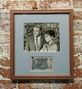 Cary Grant And Audrey Hepburn - Original Photograph And Autograph