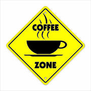 Coffee Crossing Sign Zone Xing New Shop Beans Cup Barista House Starbucks