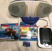Vtech Innotab 3 The Learning Tablet Kids Interactive Tablet And 3 Games And Speaker