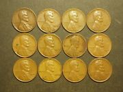 One Roll 1944 Lincoln Wheat Pennies 19