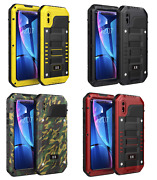 Heavy Duty Case For Iphone Xr Built-in Screen Full Protect Waterproof Shockproof